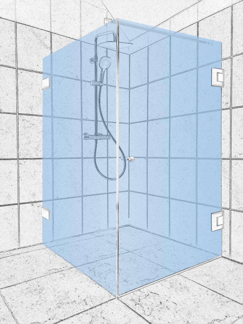 Konfigurátor sprchových koutů na míru